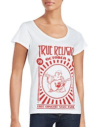 True Religion Salvador Short Sleeve Printed Tee Black