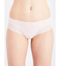 Triumph Amourette Spotlight Stretch Lace Hipster Briefs Orange Highlight