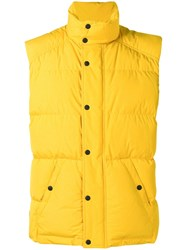 Belstaff Padded Sleeveless Jacket Yellow