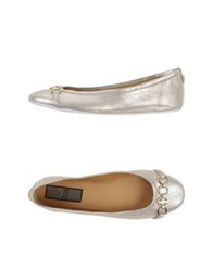 Cesare Paciotti 4Us Ballet Flats Light Grey