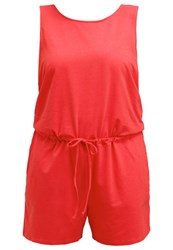 Junarose Jrsun Jumpsuit High Risk Red