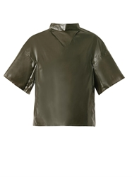 Toga Archives Laminate Wide Sleeved Top