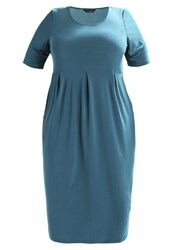Evans Pocket Dress Jersey Dress Green