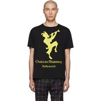 Gucci Black And Yellow 'Chateau Marmont' T Shirt