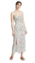 The Fifth Label Dahlia Midi Dress Ivory Floral Gingham