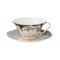 Wedgwood Daisy Tea Story Teacup And Saucer Blue