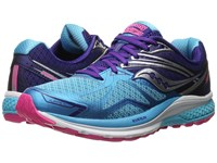 Saucony Ride 9 Navy Blue Pink Women's Running Shoes