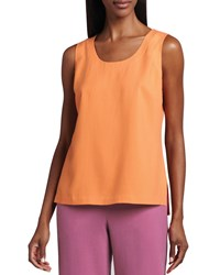 Go Silk Easy Fit Silk Tank Orange