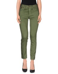 Burberry Brit Trousers Casual Trousers Women Military Green