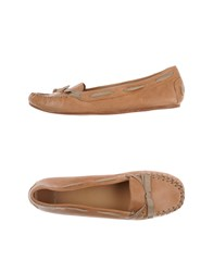 Maliparmi Footwear Moccasins Women Skin Color