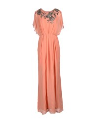 Bgn Dresses Long Dresses Women Pastel Pink