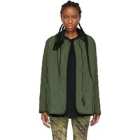 Burberry Green Cotswald Jacket