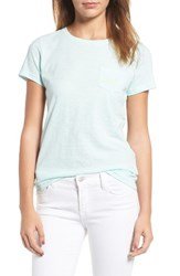 Vineyard Vines Women's Pocket Tee Crystal Blue