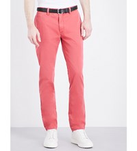 Polo Ralph Lauren Bedford Slim Fit Tapered Stretch Cotton Chinos Desert Red