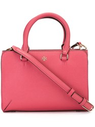 Tory Burch Small Tote Pink And Purple