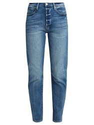 Frame Le Original Straight Leg Step Hem Jeans Denim