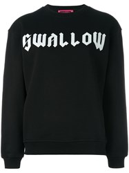 Mcq By Alexander Mcqueen Swallow Sweatshirt Black