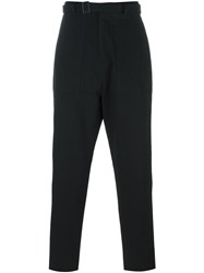 Umit Benan Patch Pocket Pants Black