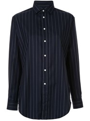 Polo Ralph Lauren Striped Long Sleeve Shirt Blue
