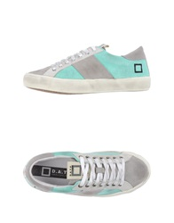 D.A.T.E. Low Tops And Trainers Light Green