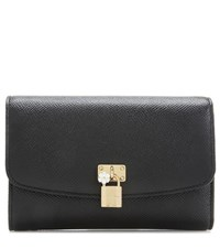 Dolce And Gabbana Leather Wallet Black