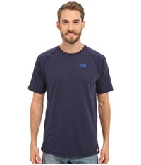 The North Face Recking Crew Cosmic Blue Heather Men's Clothing
