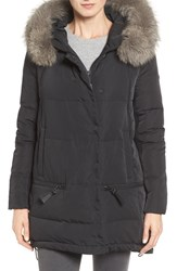Derek Lam Women's 10 Crosby 'Relaxed' Water Resistant Down Parka With Genuine Fox Fur Trim