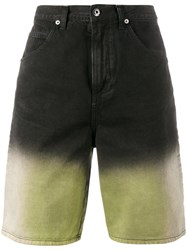 J.W.Anderson Shaded Denim Shorts Black