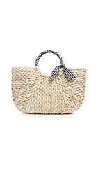 Hat Attack X Shoshanna Cayman Tote Natural