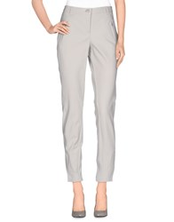 Cambio Trousers Casual Trousers Women Light Grey