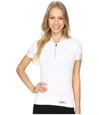 Louis Garneau Gloria Jersey White Women's Clothing