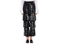 Osman Women's Felix Sequined Tiered Trousers Black