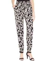 Style And Co. Petite Printed Soft Jogger Pants