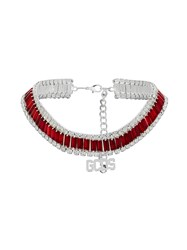 Gcds Gemstone Choker Red