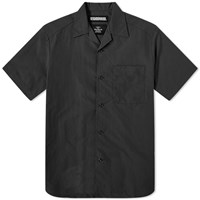 Neighborhood Short Sleeve Aloha Shirt Black