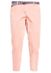 Tom Tailor Chinos Dusty Salmon Red Apricot