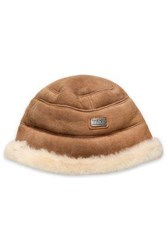 Australia Luxe Collective Shearling Hat Camel