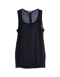 Rossopuro Topwear Tops Women Dark Blue