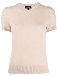 Theory Crew Neck Cashmere Top 60