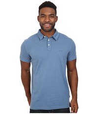 Quiksilver Everyday Sun Cruise Polo Captains Blue Men's Clothing