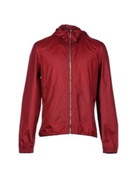 Orlebar Brown Jackets Maroon