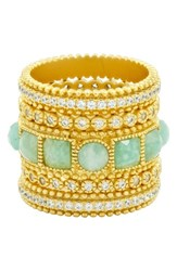 Freida Rothman Women's Amazonian Allure Set Of 5 Band Rings Gold