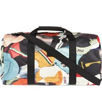 Paul Smith Cycle Caps Print Zipped Holdall Mixed Cycle Caps