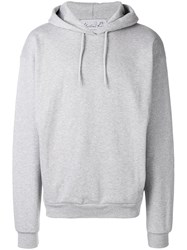 Martine Rose Oversized Fit Hoodie Grey