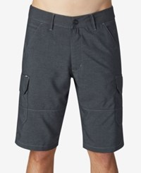 Fox Men's Slambozo X Dye Hybrid Tech Shorts Black
