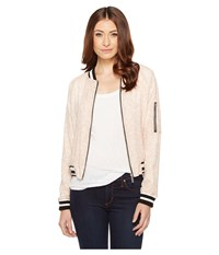 Sanctuary Sprout Bomber Cameo Pink Sprout Women's Coat Beige