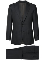 Gieves And Hawkes Fitted Pinstripe Suit 60