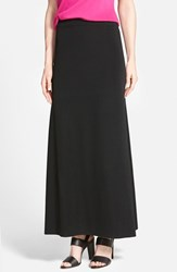Ming Wang Women's A Line Knit Maxi Skirt