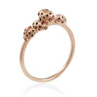 Lee Renee Loveliness Of Ladybirds Ring Rose Gold Neutrals Rose Gold Pink