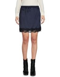 .. Merci Mini Skirts Dark Blue